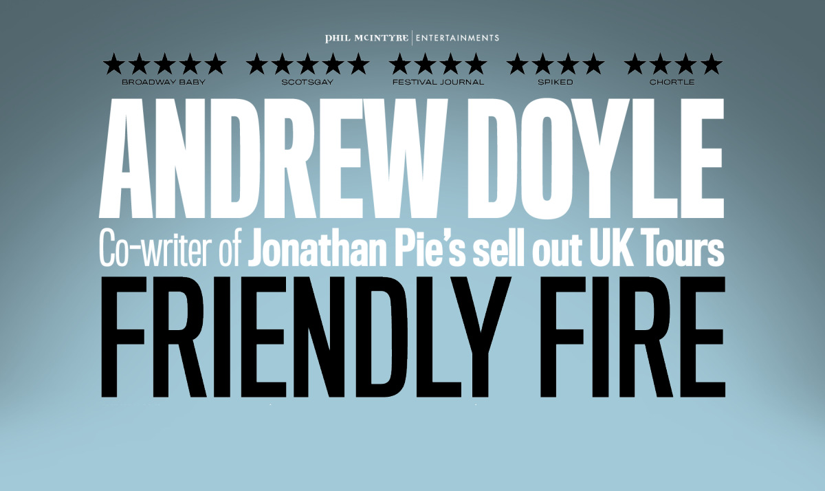 Andrew Doyle Live 2019 Buy Tickets!